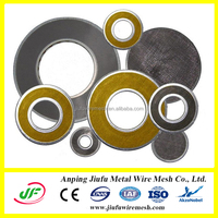 hot sale! manufacture sintered bronze filter disc