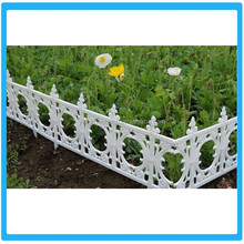 White Outdoor Plastic Security Garden Fence