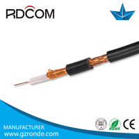 high voltage types of electric conductors shielded cable satelite TV cable RG59 RG11 RG6 RG213 RG58