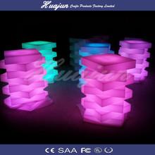 LED table/LED lounge chair/LED wine display