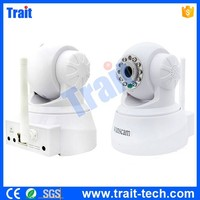 Wanscam JW0008 All-in-one 10 IR LED WPA Wireless Internet PT Dual Audio IP Camera,No MOQ, Paypal Accepted