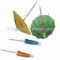 classic cocktail drink decorative parasol picks