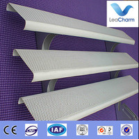 Aluminum perforated metal false ceiling for outdoor decoration