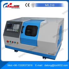 Ucuz fiyat küçük tip cnc torna tezgahlarında ml210( mikro cnc torna)