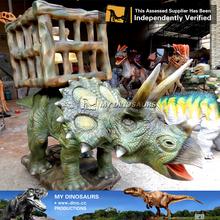 MY Dino-Remote control dinosaur kiddie ride manufacturer walking animal rides