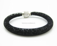 Full Crystal Wrap with Magnetic Clasp Stardust Bracelet