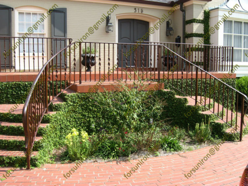 Decorative wrought iron railings for outdoor steps buy Decorative railings