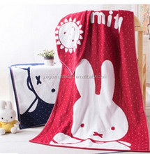 SGS Bunny Jacquard Super Soft Cotton Beach Towel