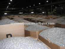 Pet bottle scrap PEt plastic pellets/ resin/ granules with GF for injection mmolding