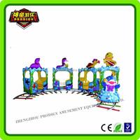 new design 14 capacity amusement park trains for sale