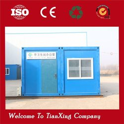 newest style transformed prefabricated movable complete office container