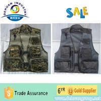 Fishing vest with four pockets