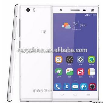 Zte lp069free G720T 5.0 pulgadas pantalla 4 G Android 4.4 Smart phone, 1.5 ghz, RAM : 2 gb, ROM : 16 GB teléfono móvil
