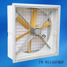 temperature controlled exhaust fan models / Circulator Fan for Industrial / Greenhouse / Poultry