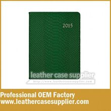 stationery spiral notebook leather cover
