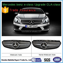 hot for mercedes w212 e-class. w212 grille.E180 260 320L AMG shiny diamonds on w212 front grill 2014-2015