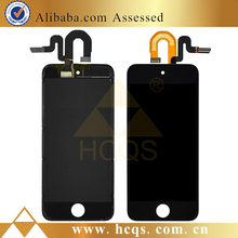 1 pcs MOQ for iPod touch 5 lcd replacement assembly, replacement screen digitizer for iPod touch 5