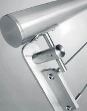 Made in China new design métal balustrade en verre pour balcon projet