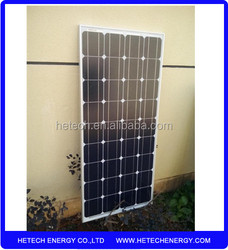 OEM available high efficiency Best Quality Mono 100 watt solar panels for home use