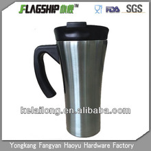 360ml double wall stainless steel travel mug