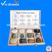 Crystalline specimen ,specimens geological,Samples for mineral crystalline shape (12 kinds)