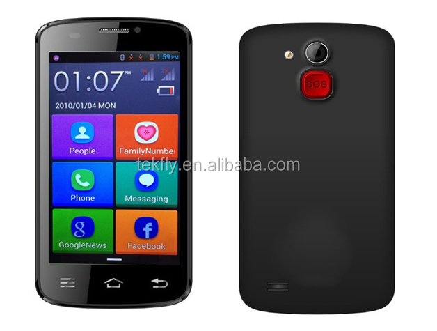 dual sim android mobile phone with 4.5inch touch screen W80