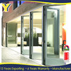 insulated doors and windows / USA market double glazed lowes prices patio accordion glass doors