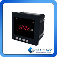 One line digital single phase frequency meter