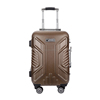 Colorful 100% pure PC sky travel luggage bag/suitcase