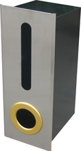 wrought iron wall-embedded public mailbox/letterbox/suggestion box