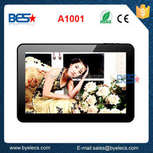 """10.1"""" Quad Core A33 with wifi Bluetooth & Capacitive Touch android tablet"""