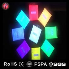 pearl pigment powder/glow in the dark pigment/photoluminescent paint pigment