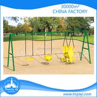 Happy childhood unique swings kids swing structure for backyard