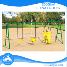 Happy childhood unique swings kids swing structure for backyard
