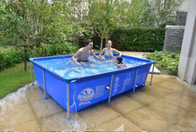 2015 Best popular portable swimming pools with metal frame for kids
