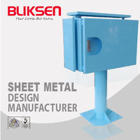 OEM Outdoor Electrical Stainless Steel Mounted Cabinet