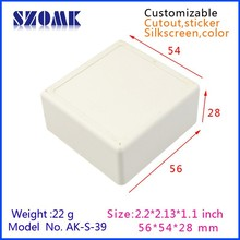 IP54 Protection Level and Junction Box abs instrument plastic case