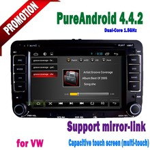 vw jetta car dvd gps navigation system android TV android4.4.2