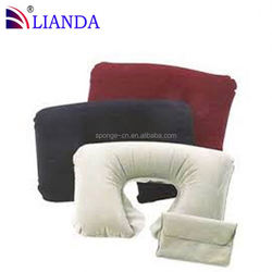 inflatable jumping pillow, inflatable king size pillow, inflatable leg support wedge pillow