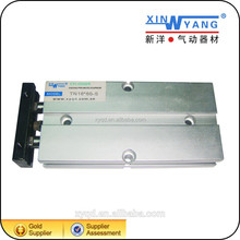 TN Series aluminum alloy body Two Rod Pneumatic Cylinder