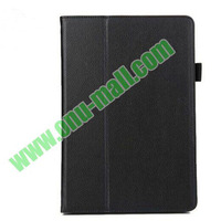 High Quality Litchi Texture Flip Stand Leather Case for Huawei MediaPad 10 FHD