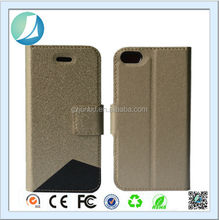 Folding Phone Leather Protector Stand Magnetic Case for Iphone 6