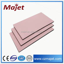 Color coated covering cladding elevation tiles out side house color change acp pvdf coated