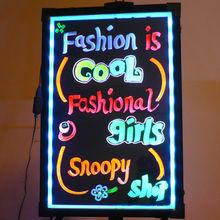 Europe Aliexpress fresh handwriting advertising electronic led colors neon board