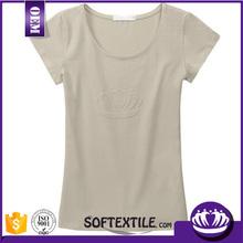 Custom v-neck Women's t shirt