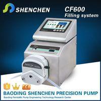 Precision carboy filling pump
