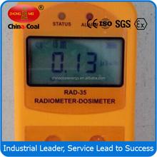 High Accuracy RAD-35 gamma and beta radiometer dosimeter of China Coal Group