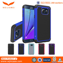 2015 hot sell silicone bumper case for samsung note 5