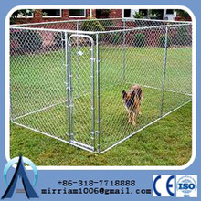 2015 high quality large steel dog cage/cheap chain link dog kennels