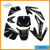 Cheap high quality dirt bike CRF50 motorcycle 3m sticker